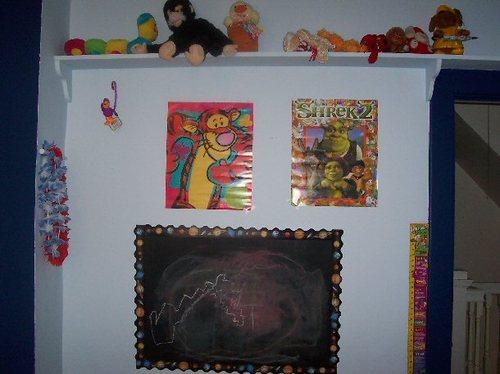 Maya's Room - Chalkboard